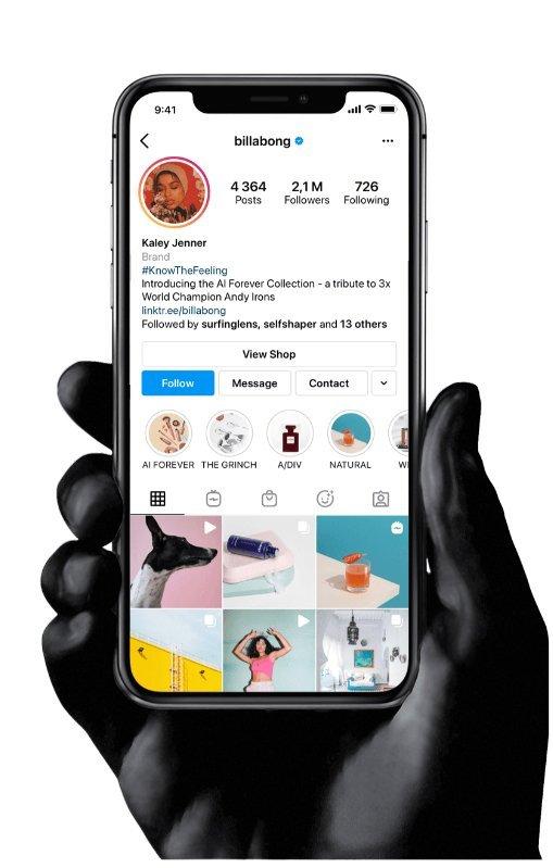 Gestão de Conta de Instagram