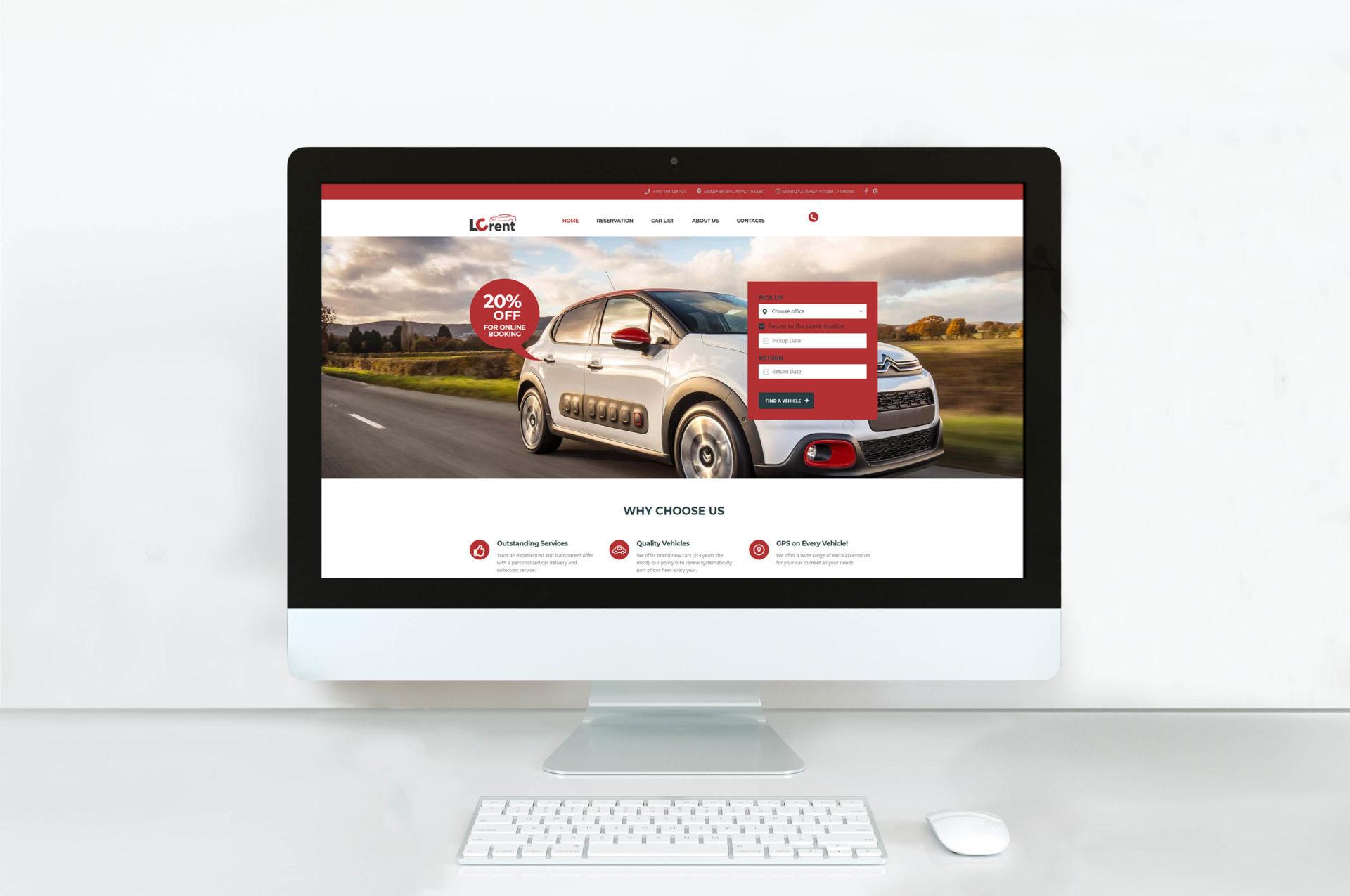 Website Desenvolvido em WordPress