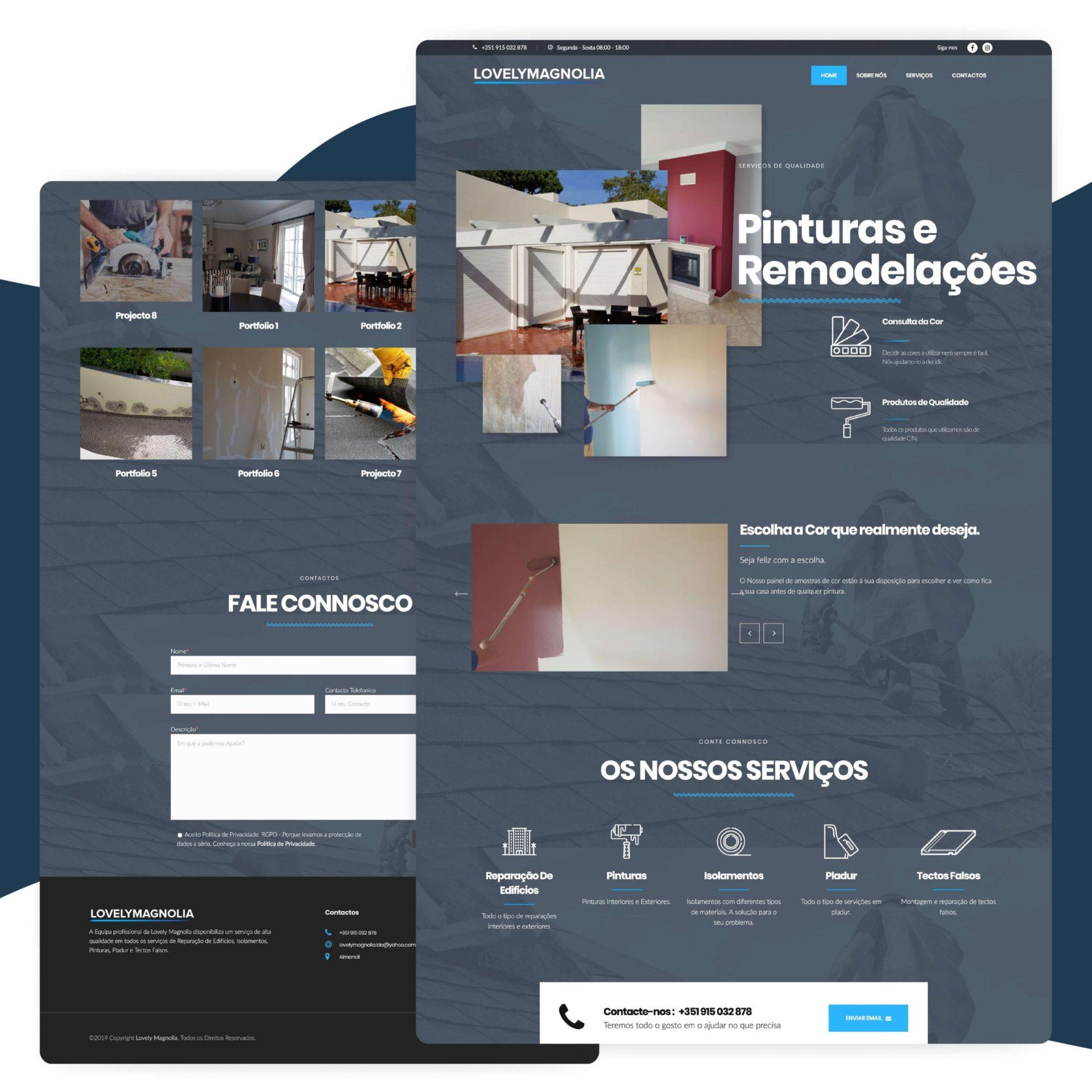 Desenvolvimento de Website em Wordpress